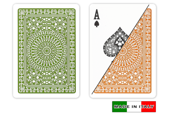 Da Vinci 100% plastic Italian playing cards - Palermo design