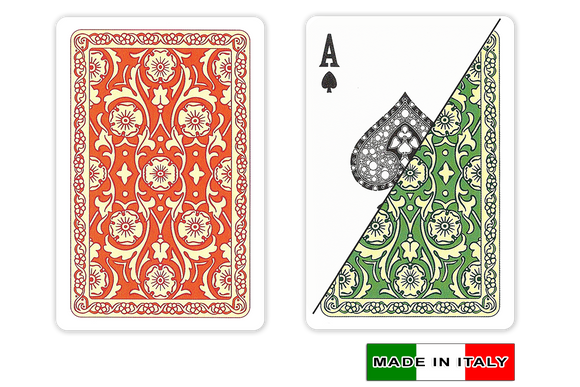 DA VINCI Italian plastic playing cards - Venezia design - bridge size normal index