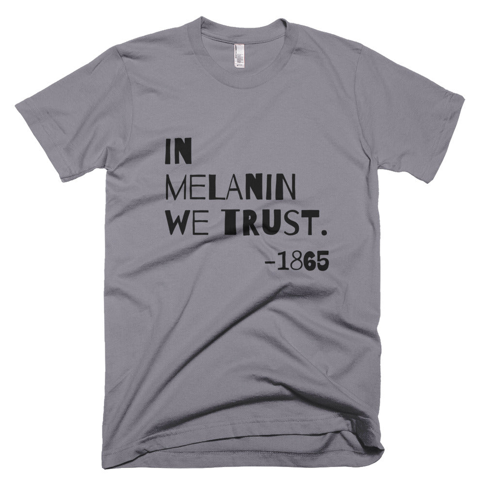 In Melanin We Trust American Apparel