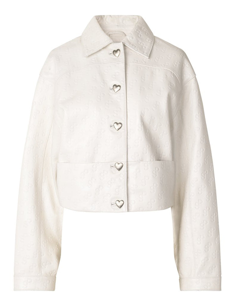 Load image into Gallery viewer, Perla Jacket in White