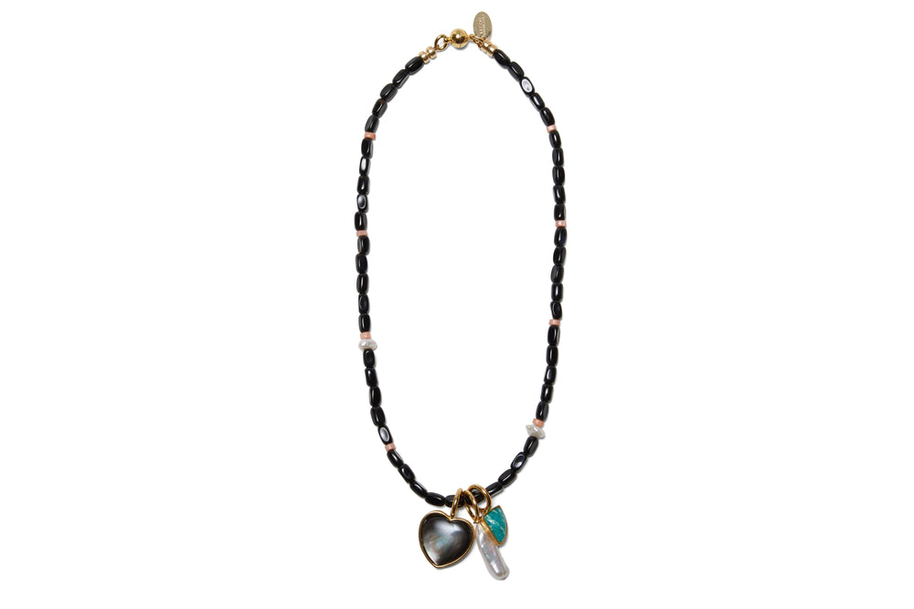 Catalina Necklace in Black