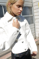 Perla Jacket in White