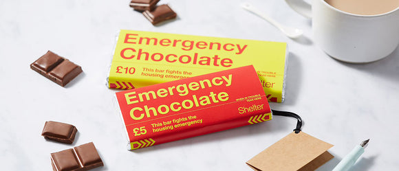Shelter Emergency Chocolate Bar