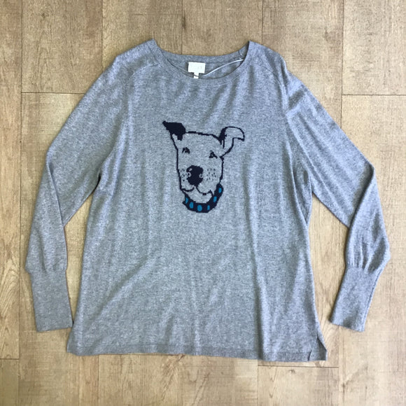 East Grey Jumper With Cashmere and Angora Size M
