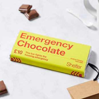 £10 Emergency Chocolate Bar