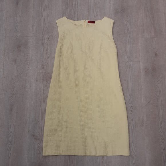 Hugo Boss Yellow Dress