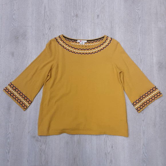 Boden Yellow Top