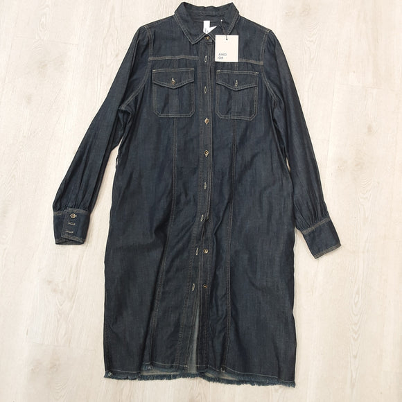 And/Or Denim Dress (new)