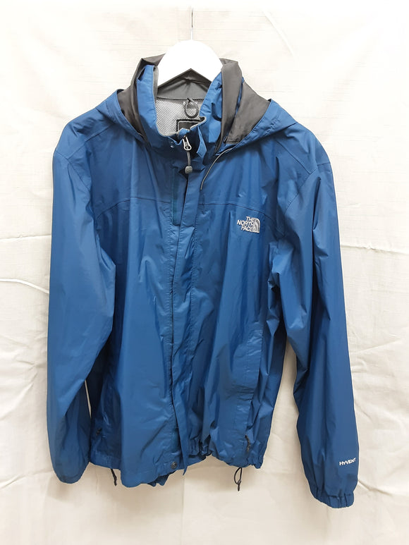 The North Face men's blue waterproof jacket - H70