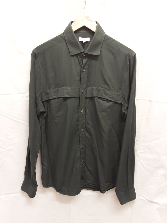Men's green Reiss long sleeved shirt size L - H70