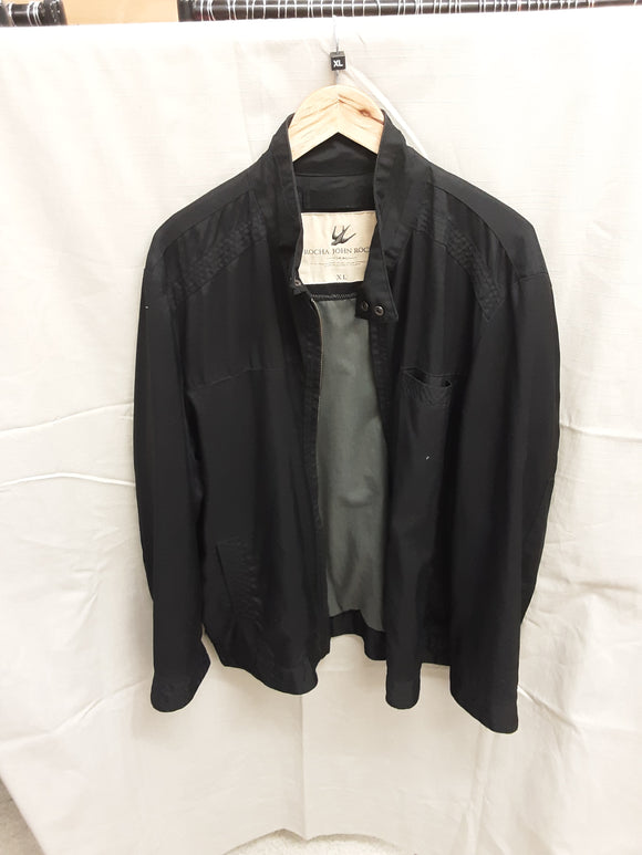 Men's black Rocha. John Rocha jacket size XL - H70