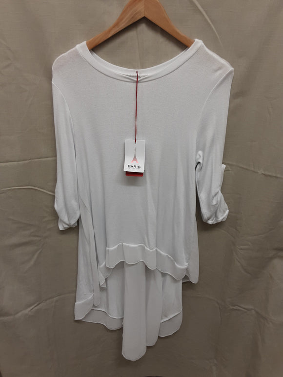 BNWT Paris Collection white blouse size 14/16 - H70