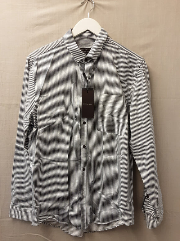 BNWT Mens Zara Slim Fit Shirt Size L