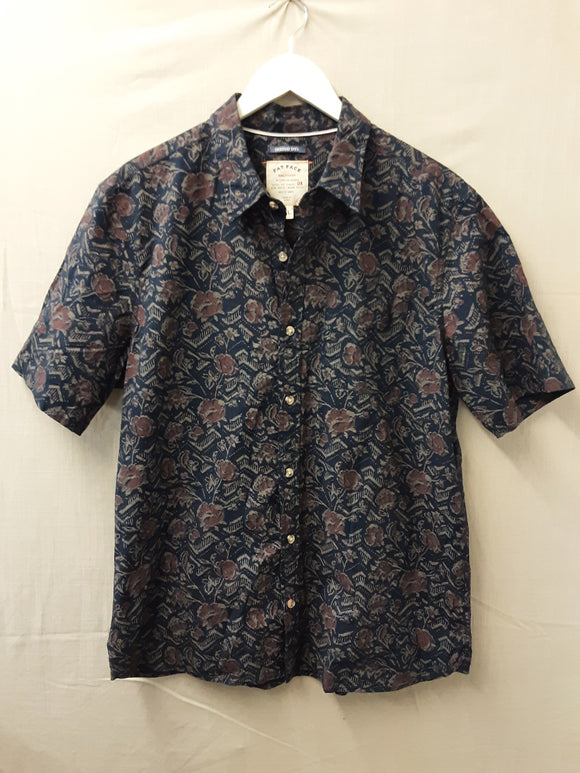 Mens Blue FatFace Shirt Size XL