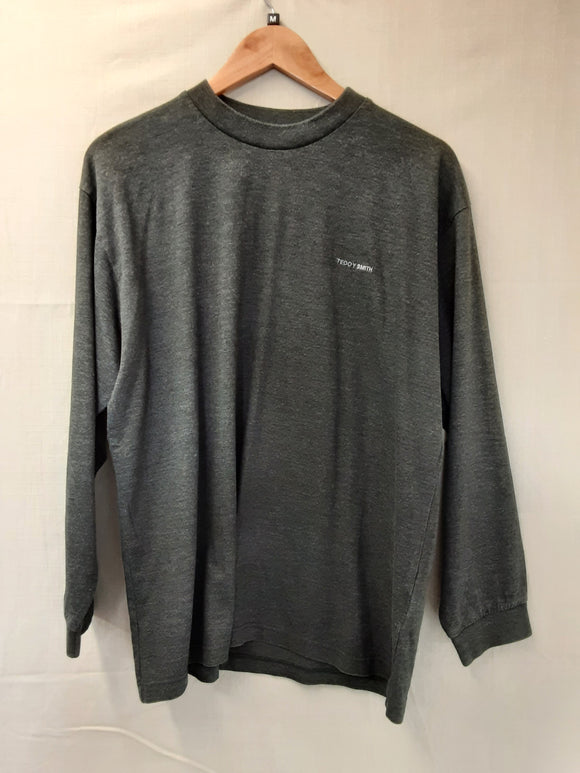 Mens Grey Teddy Smith Jumper Size M