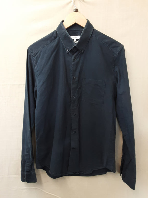 Mens Blue Reiss Shirt Size L