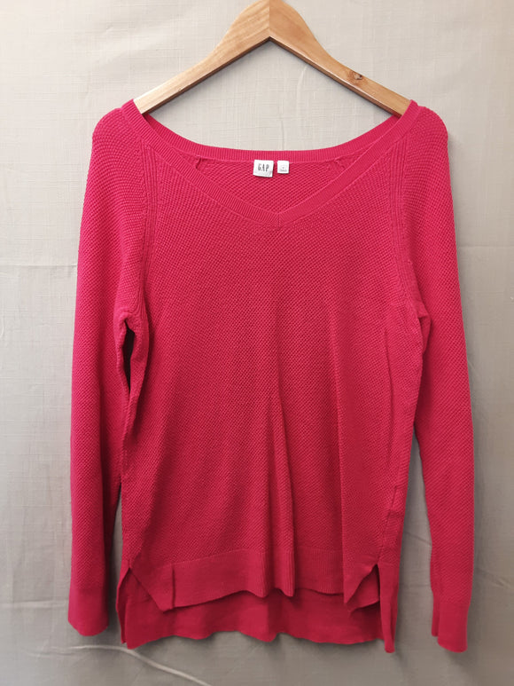 Ladies Pink Gap Sweatshirt Size M