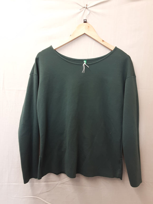 Ladies Green Blouse Size 14