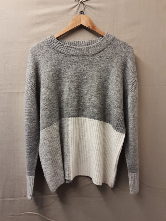 Ladies Grey Sweatshirt Size 12