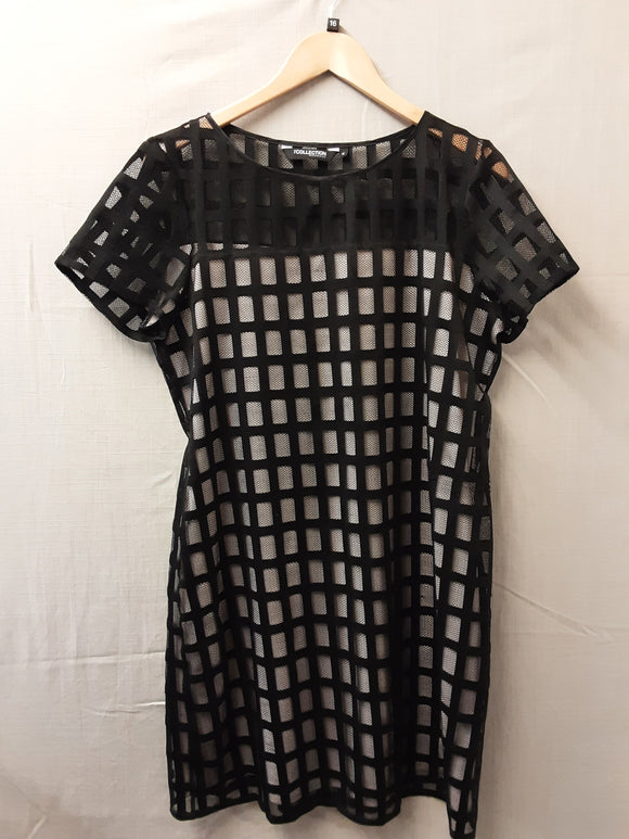 Ladies Black Debenhams Dress Size 16