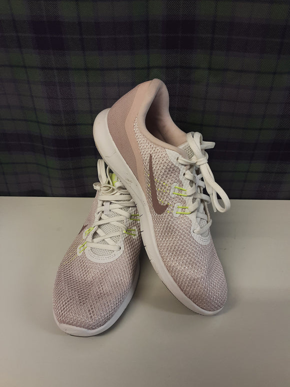 Ladies Nike Flex Pink Trainers Size 5