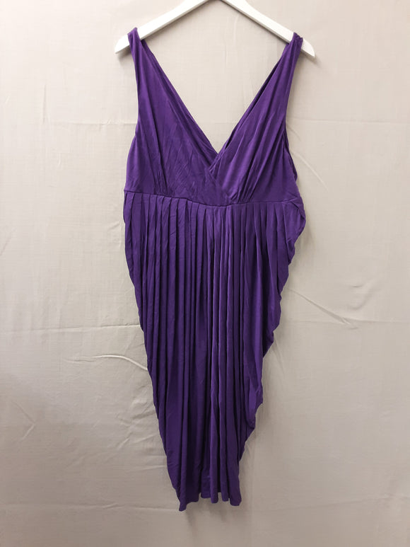 BNWOT Ladies Purple Monsoon Dress Size 16