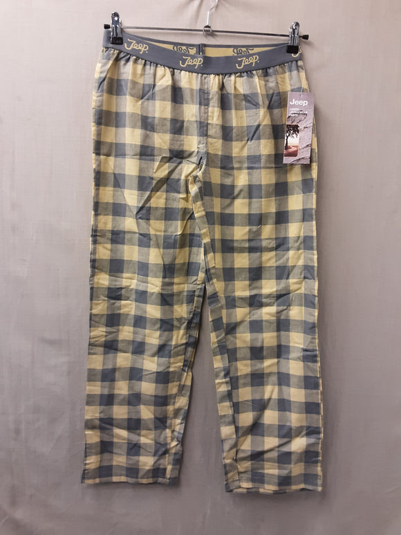 BNWT Jeep ladies loungewear trousers yellow size 14