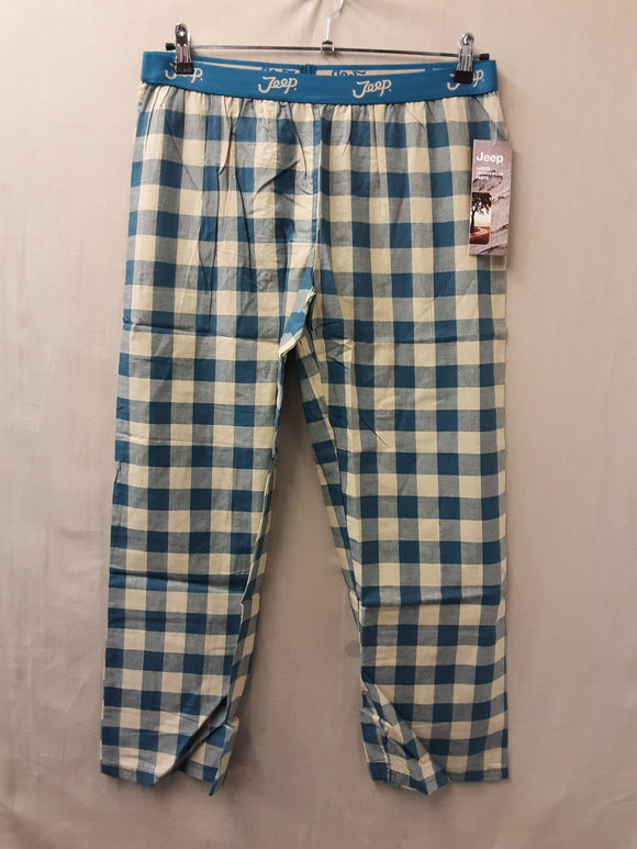 BNWT Jeep ladies loungewear trousers blue size 16