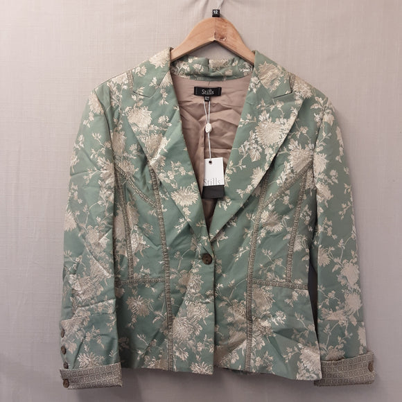 BNWT Ladies Stills Green Jacket Size 12