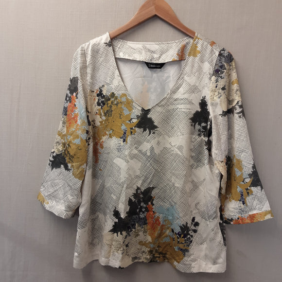 Ladies Kaleidoscope Blouse Size 16