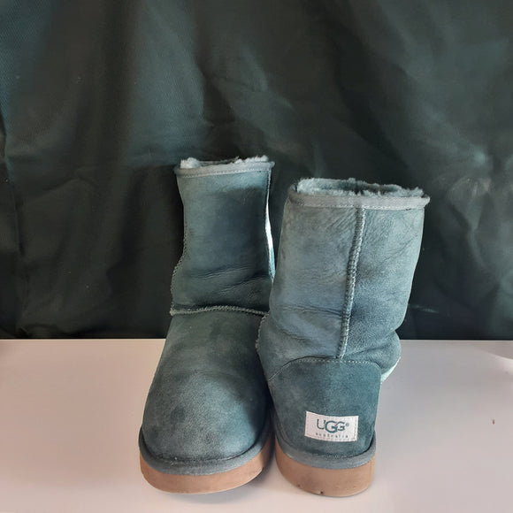 Ladies Green UGG Boots Size 8