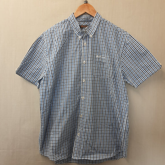 Blue Check Ben Sherman Shirt Size XL