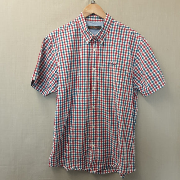 Red Check Ben Sherman Shirt Size XL