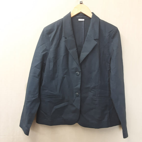 BNWOT Ladies Blue Damart Jacket Size 18