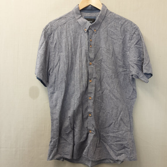 Grey Remusuomo Jeans Shirt Size XL