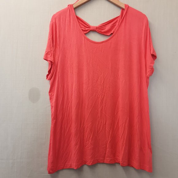 BNWOT Ladies Pink Damart Blouse Size 24
