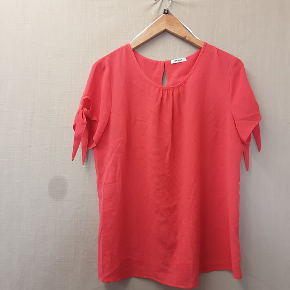 BNWOT Ladies Pink Damart Blouse Size 16