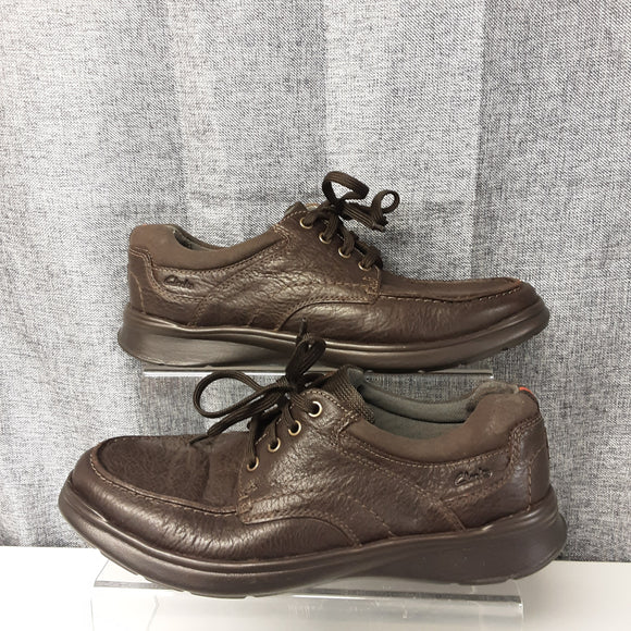 BNWOT Brown Clarks Soft Cushion Shoes Size 9G