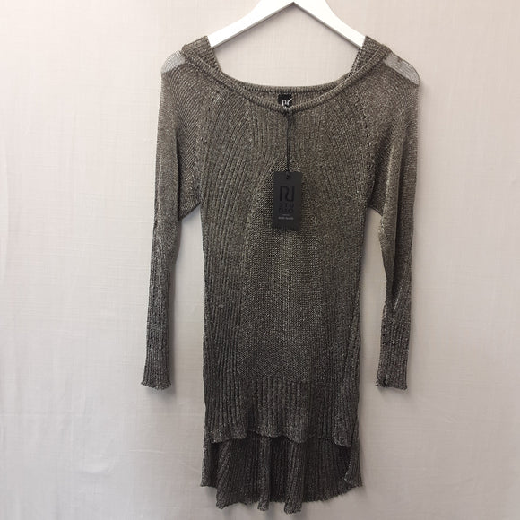 BNWT Grey Knitted River Island Dress Size S