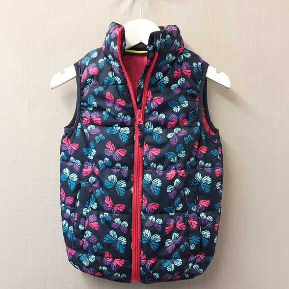 Navy Multi Mountain Warehouse Body Warmer Size 2-3 Years