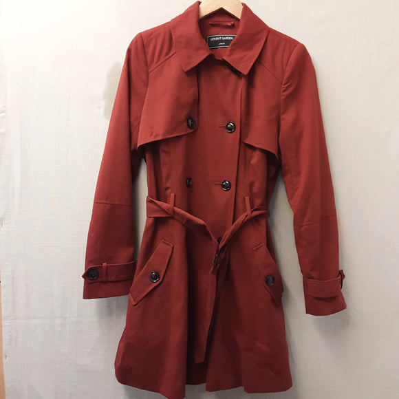 Covent Garden London Red Coat Size 10