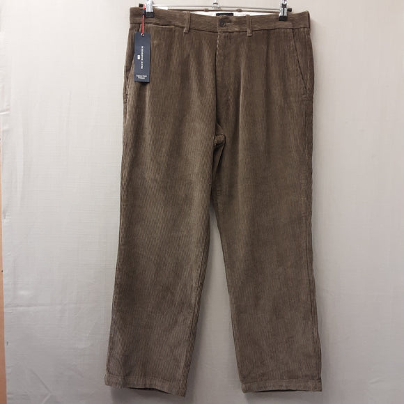 BNWT Brown M&S Cord Trousers Size 36W
