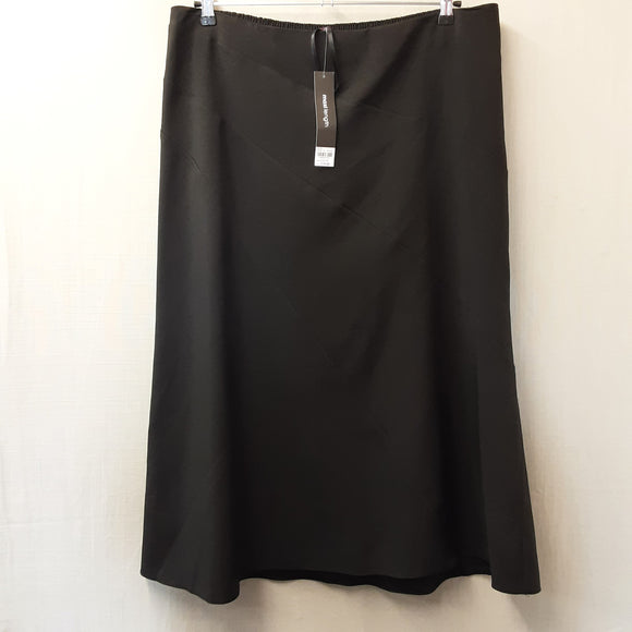 BNWT Black Skirt Size 22