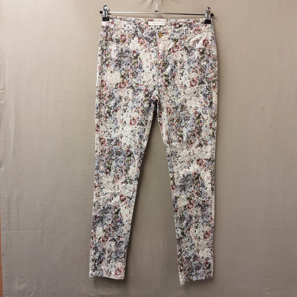 Floral Mademoiselle R Jeggings Size 10