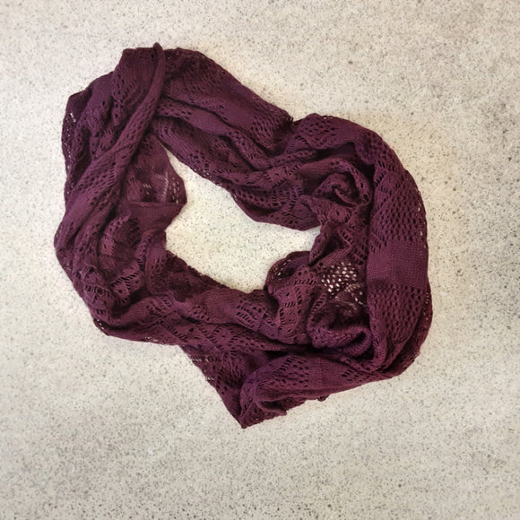 Purple FatFace Snood/Scarf