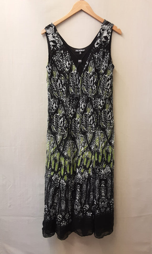 Green Picadilly Dress Size L
