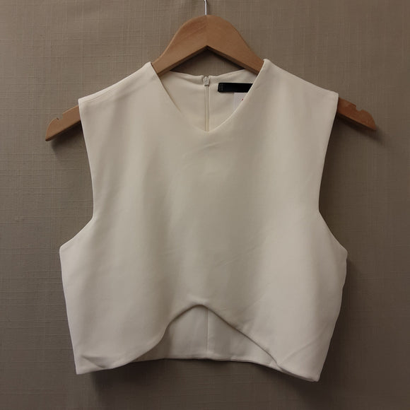 Cream Zara Sleeveless top size M