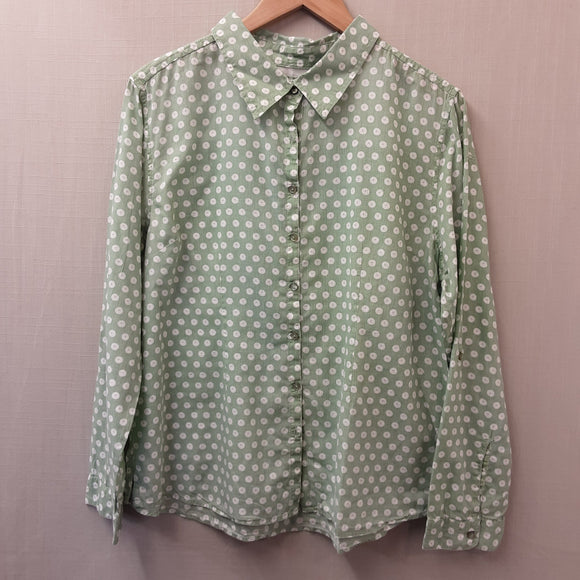Green Seasalt Blouse Size 16