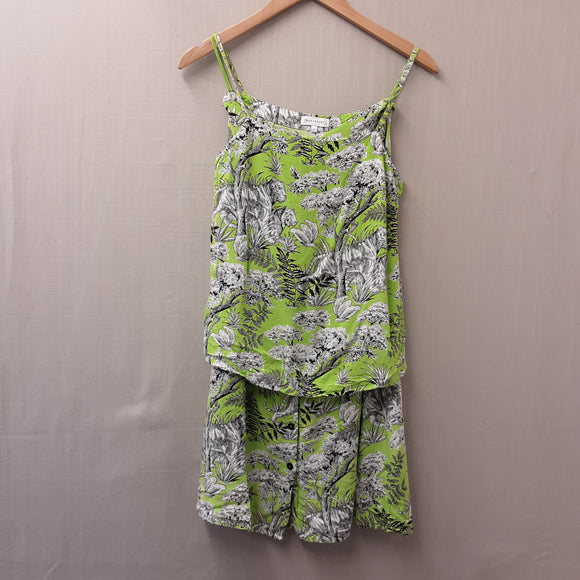 Green Warehouse Two Piece Set Size 6
