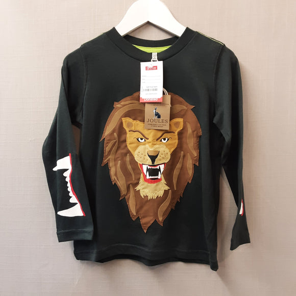 BNWT Green Joules Lion Shirt Size 5-6yrs